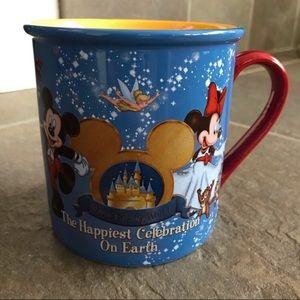 Disneyworld The Happiest Celebration on Earth Mug
